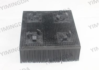 China Black color Nylon Brush 99*99*39mm Auto Cutter Bristle For Investronica Cutter supplier