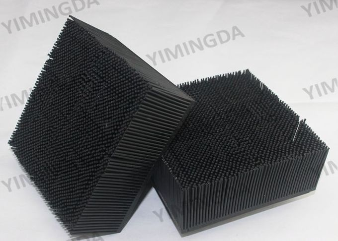 Black color Nylon Brush 99*99*39mm Auto Cutter Bristle For Investronica Cutter
